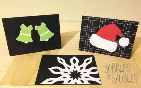 Christmas Cards - Bobbles & Baubles