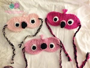Flamingo Sleep Masks - Bobbles & Baubles