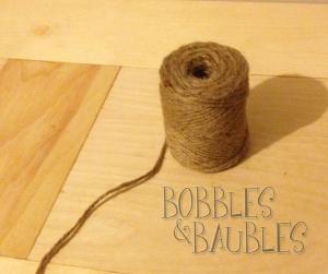 Jute - Bobbles & Baubles