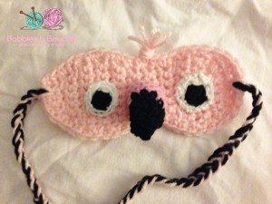 Flamingo Sleep Mask - Bobbles & Baubles